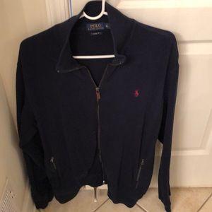 Full zip polo Ralph Lauren sweater